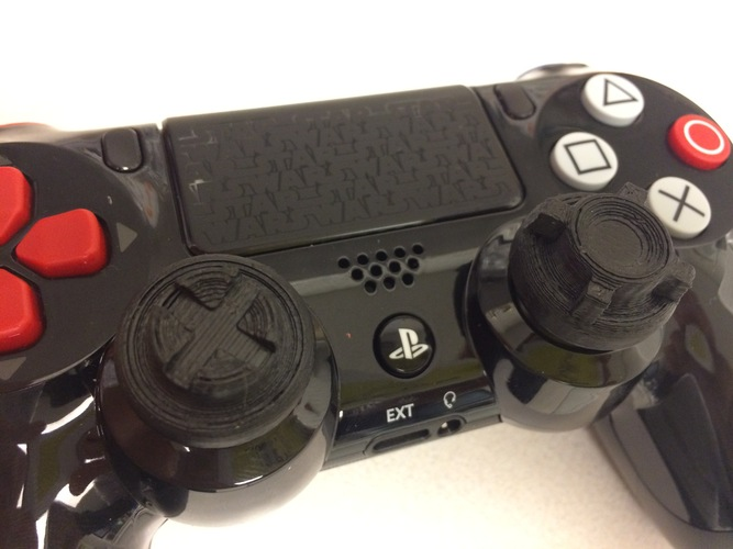 AG Thumbstick extender for PS4 3D Print 4990