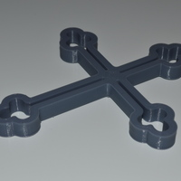 Small Simple Cross  3D Printing 5024