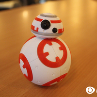 Small BB8 DROID - STAR WARS: THE FORCE AWAKENS 3D Printing 5063