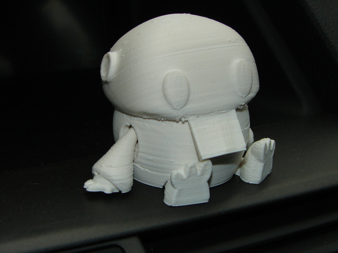 Wip: Tiny articulated bot 3D Print 5075