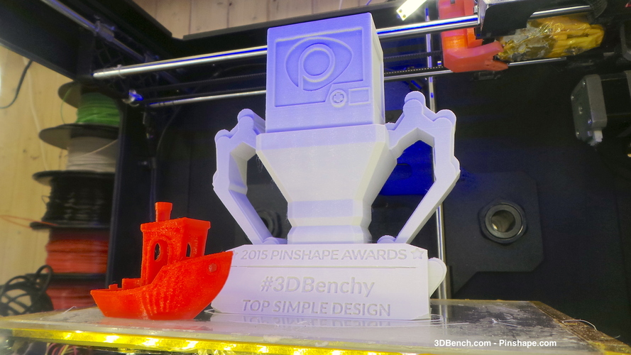 Pinshape Awards Trophy 3D Print 5091