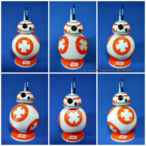 BB8 DROID - STAR WARS: THE FORCE AWAKENS 3D Print 5112