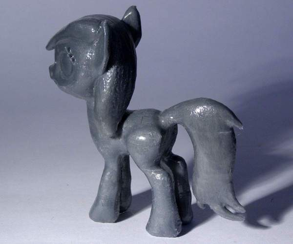 Black Star Pony 3D Print 5127