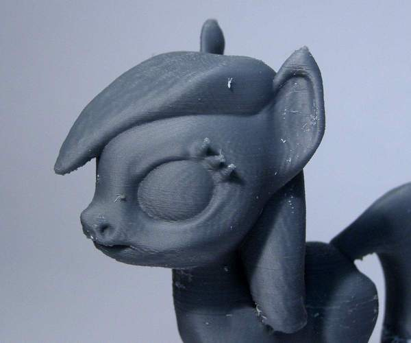 Black Star Pony 3D Print 5129