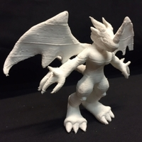 Small Veemon Evolution Base 3D Printing 5166
