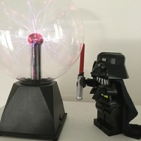 Small Giant Lego Darth Vader 3D Printing 5183
