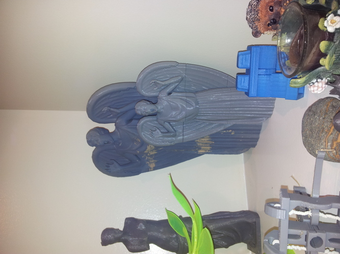 Dr. Who Weeping angel v1.21 3D Print 520