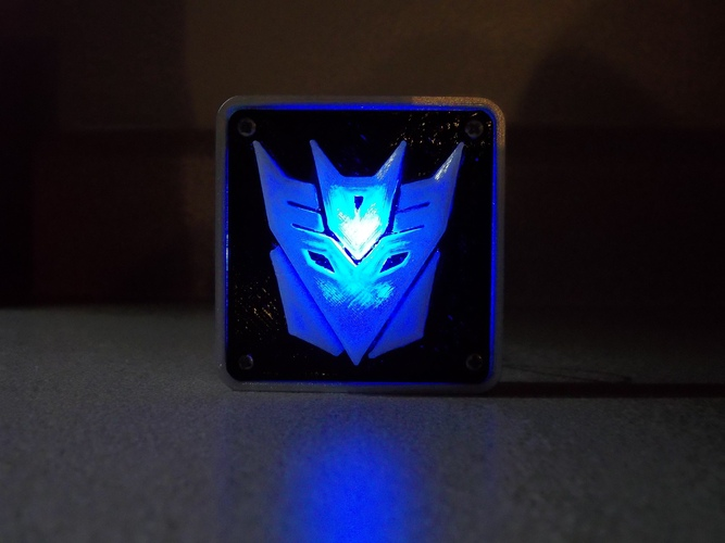 Decepticon Transformers LED Nightlight/Lamp 3D Print 5227