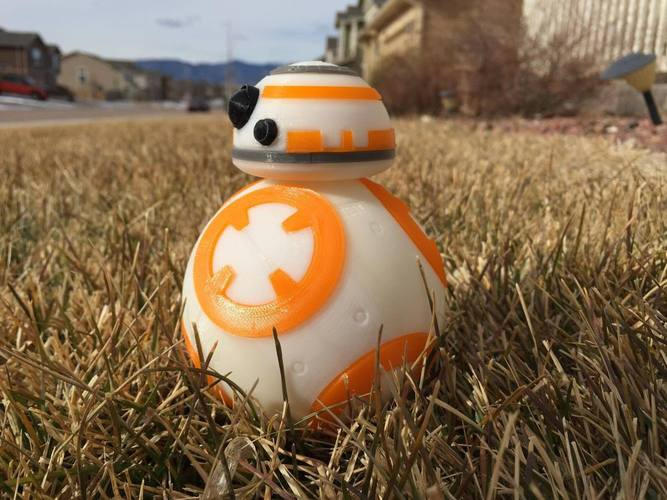 BB8 DROID - STAR WARS: THE FORCE AWAKENS 3D Print 5235