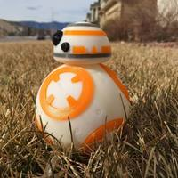 Small BB8 DROID - STAR WARS: THE FORCE AWAKENS 3D Printing 5235