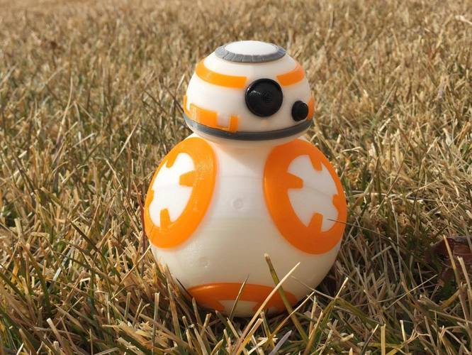 BB8 DROID - STAR WARS: THE FORCE AWAKENS 3D Print 5237