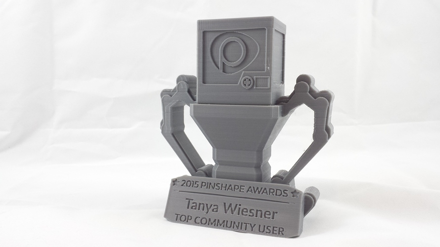 Pinshape Awards Trophy 3D Print 5266