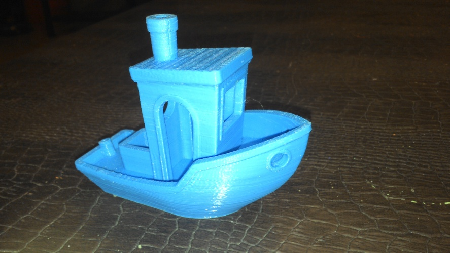 #3DBenchy - The jolly 3D printing torture-test 3D Print 5303