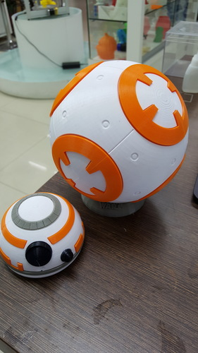 BB8 DROID - STAR WARS: THE FORCE AWAKENS 3D Print 5316