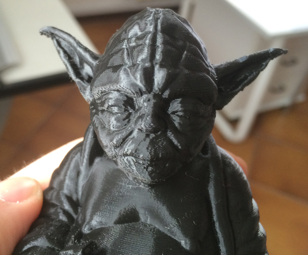 Improved Yoda Buddha w/ Lightsaber  3D Print 5333