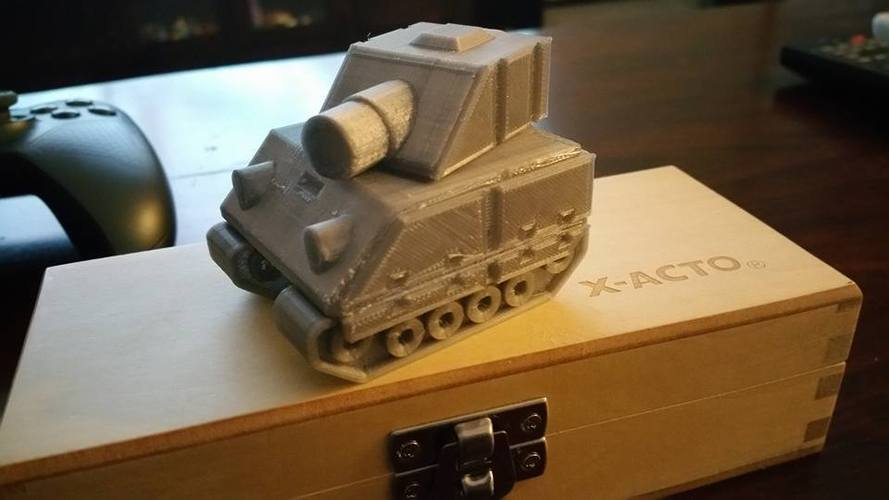 Tank Model from Advance Wars Game  3D Print 5340