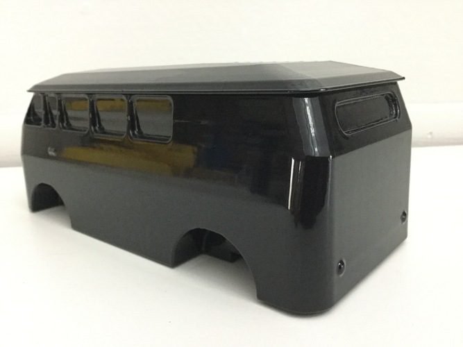 vw bus with turning wheels 3D Print 5380