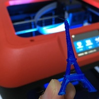 Small The Eiffel Tower Miniature 3D Printing 5385