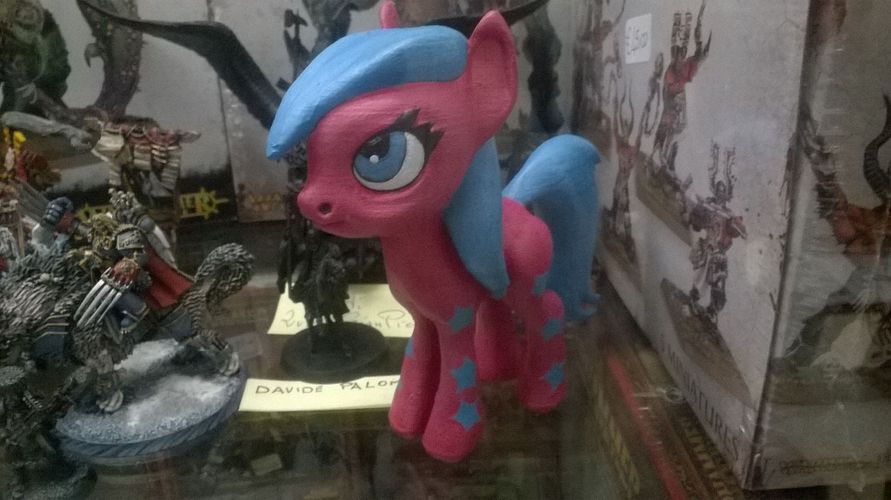 Black Star Pony 3D Print 5455
