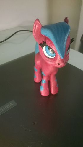 Black Star Pony 3D Print 5458