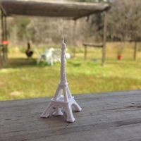 Small The Eiffel Tower Miniature 3D Printing 5528