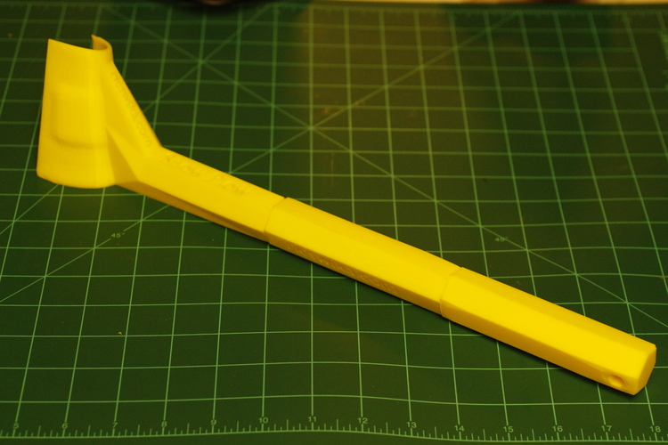 Ice Scraper with Poll Extension 3D Print 5561