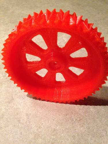 RC snow and sand tire for 1:10 scale cars. 3D Print 5571
