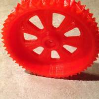 Small RC snow and sand tire for 1:10 scale cars. 3D Printing 5571