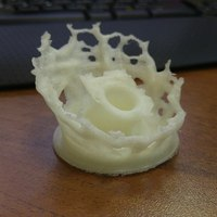 Small Splashing Pen holder 3D Printing 5575