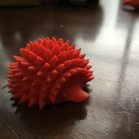 Small Hedgehog Forte 3D Printing 5597