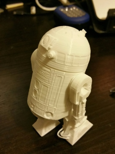 R2D2 Salt and Pepper Shaker 3D Print 5609