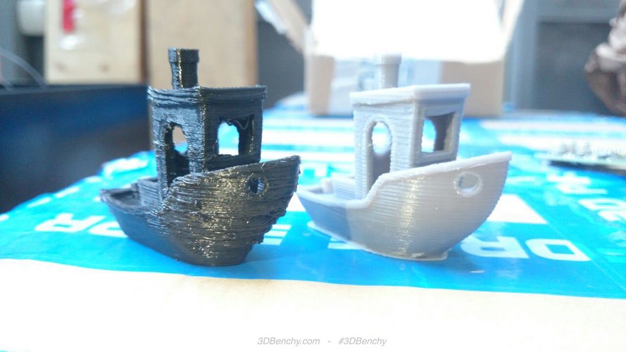 #3DBenchy - The jolly 3D printing torture-test 3D Print 575