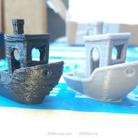 Small #3DBenchy - The jolly 3D printing torture-test 3D Printing 575