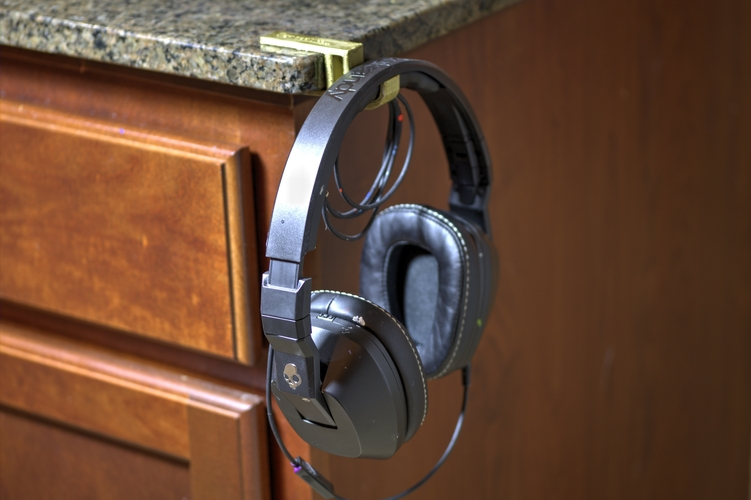 Desk Headphone Holders 3D Print 5825