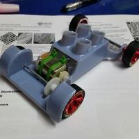 Small Design Project(Toy Car) v2.6 3D Printing 5846