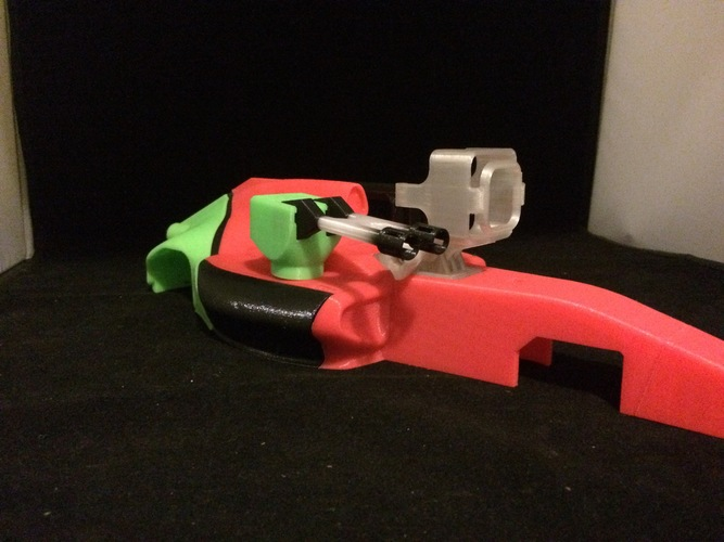 Open rc formula 1 fully movable  turret accessory   3D Print 5995