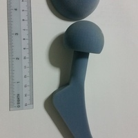 Small NUS Design Project (Hip Implant) 3D Printing 6057