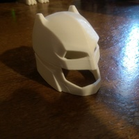 Small Batman vs Superman- Helmet 3D Printing 6064