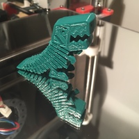 Small Flexy Rex 3D Printing 6113
