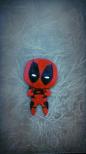 "Deadpool ""Feel The Love"" Magnet 3D Print 6197"