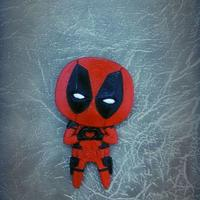 "Small Deadpool ""Feel The Love"" Magnet 3D Printing 6197"