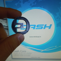 Small Dash Coin / Logo coin / cryptocurrency 3D Printing 6222
