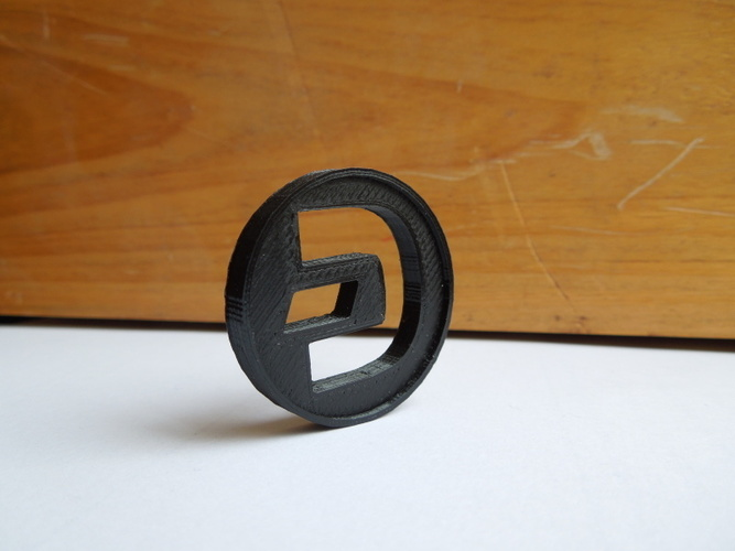Dash Coin / Logo coin / cryptocurrency 3D Print 6232