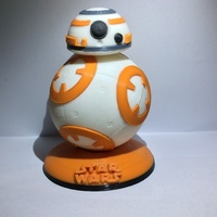 Small BB8 DROID - STAR WARS: THE FORCE AWAKENS 3D Printing 6319