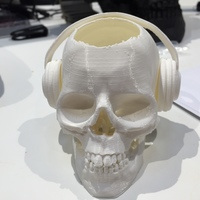 Small Afterdark  energy drink skull 3D Printing 6365
