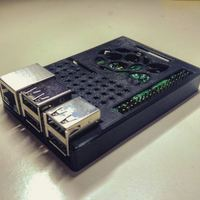 Small Raspberry Pi case (model B+ / 2 / 3) 3D Printing 6367
