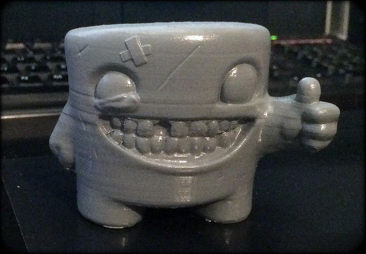 Super Meat Boy 3D Print 6405