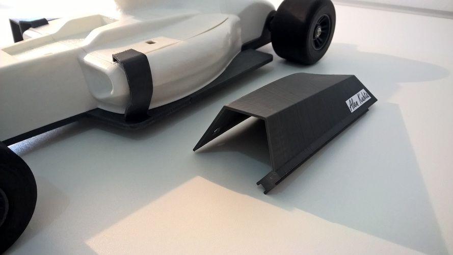 open rc f1 body kit 3D Print 6461