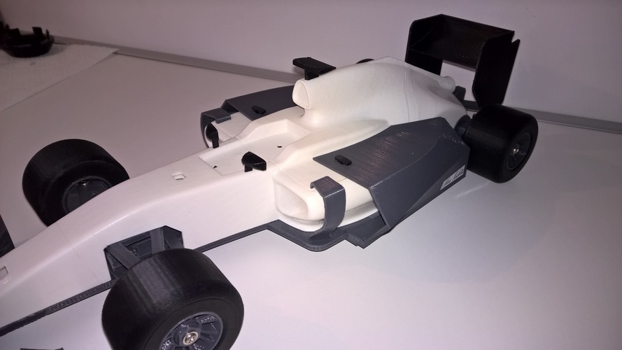 open rc f1 body kit 3D Print 6463