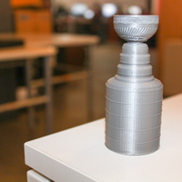 Small NHL Stanley Cup - Dual Extruder 3D Printing 648